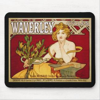 Waverley Cycles - Art Nouveau - Alphonse Mucha Mouse Mats