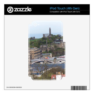 Waverley Station and other monuments in Edinburgh iPod Touch 4G Decal