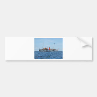 Waverly paddle steamer bumper sticker