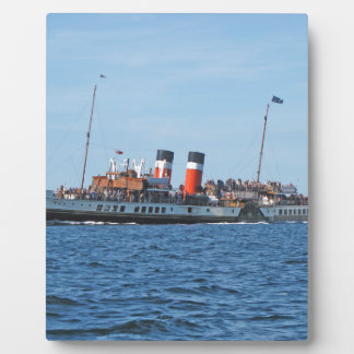 Waverly paddle steamer plaque