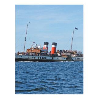 Waverly paddle steamer postcard