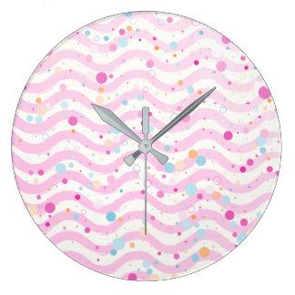 Waves2 Large Clock