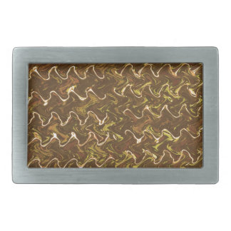 Waves Abstract Sparkle Gold lines Gifts lowprices Belt Buckle