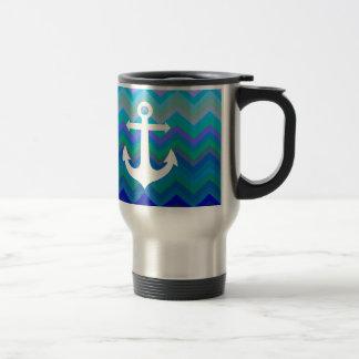 Waves & Anchor Mug