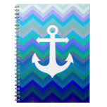 Waves & Anchor Note Books