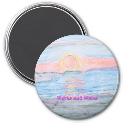 Waves and Water  Magnet