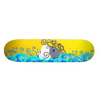 Waves And Whales - Skate Decks