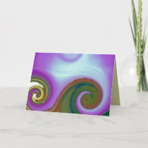 waves ~ art for Multiple Sclerosis MS Card