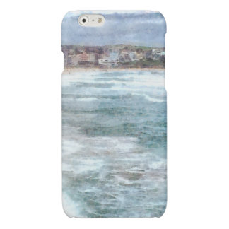 Waves at Bondi beach Glossy iPhone 6 Case