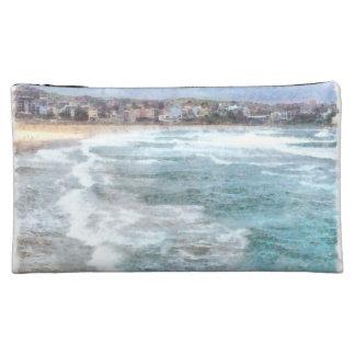 Waves at Bondi beach Makeup Bag