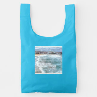 Waves at Bondi beach Reusable Bag