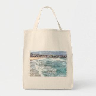 Waves at Bondi beach Tote Bag
