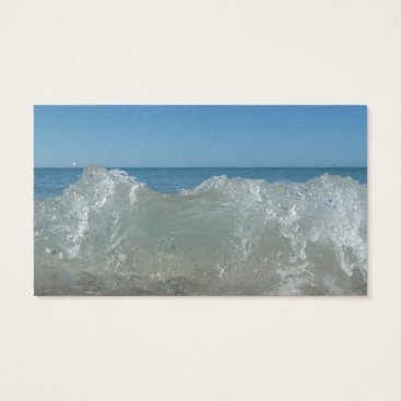 Professional Business Waves at Manasota Key Business Card