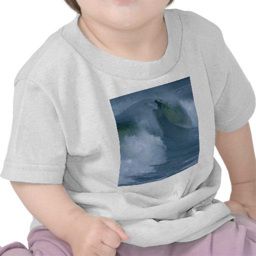 Waves At Ocean Beach T-shirt