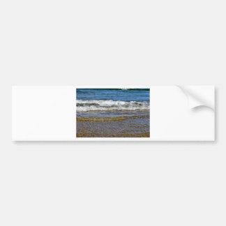 WAVES AT THE BEACH QUEENSLAND AUSTRALIA BUMPER STICKER