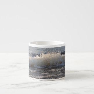 Waves At The Beach Espresso Mug