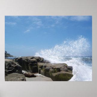 Waves at Wind n Sea Poster
