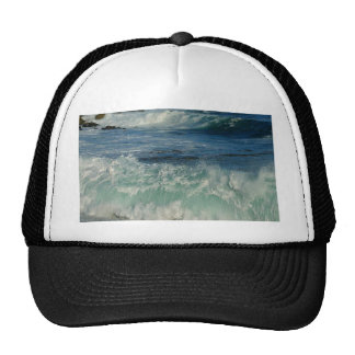 Waves Beaches Ocean Foam Hats