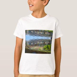 Waves Blue t-shirts