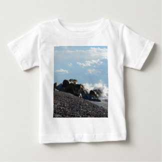 Waves Breaking On Rocks Tee Shirt