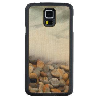 Waves Breaking Onto Pebbles, Tsitsikamma Carved Maple Galaxy S5 Slim Case