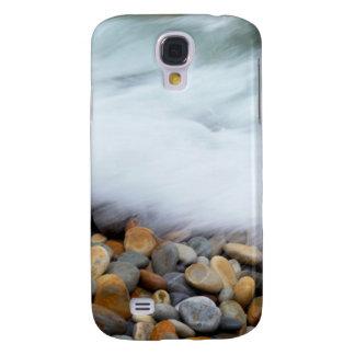 Waves Breaking Onto Pebbles, Tsitsikamma Galaxy S4 Cover