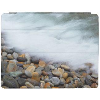 Waves Breaking Onto Pebbles, Tsitsikamma iPad Cover