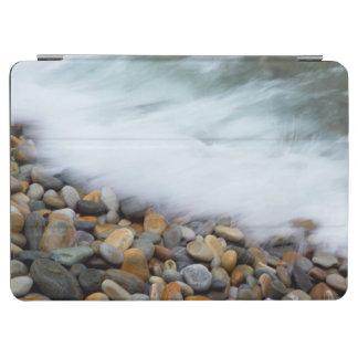 Waves Breaking Onto Pebbles, Tsitsikamma iPad Air Cover