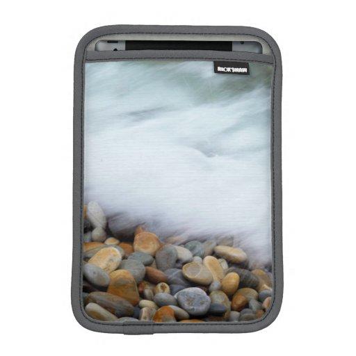 Waves Breaking Onto Pebbles, Tsitsikamma Sleeve For iPad Mini