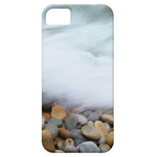 Waves Breaking Onto Pebbles, Tsitsikamma iPhone SE/5/5s Case