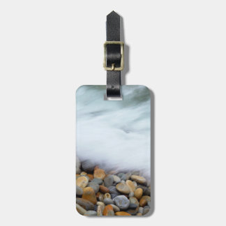 Waves Breaking Onto Pebbles, Tsitsikamma Luggage Tag