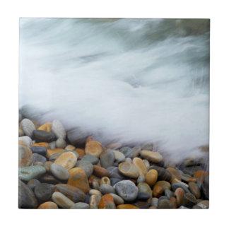 Waves Breaking Onto Pebbles, Tsitsikamma Tile