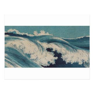 Waves by Konen Uehara Postcard