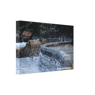 Waves Gallery Wrap Canvas