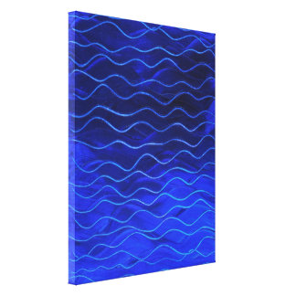 """Waves"" Canvas Print"