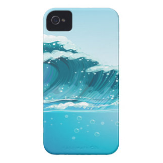 Waves iPhone 4 Cases