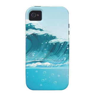 Waves iPhone 4/4S Cases