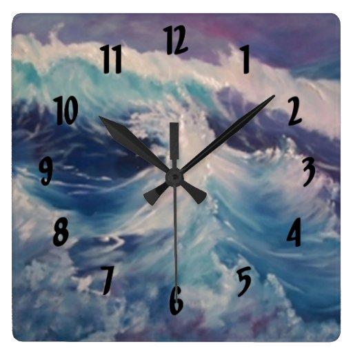 WAVES CLOCKS