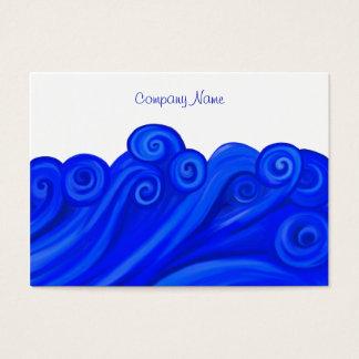 Waves, Company Name Business Card