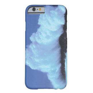 waves crashing against rocks barely there iPhone 6 case