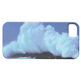 waves crashing against rocks iPhone SE/5/5s case