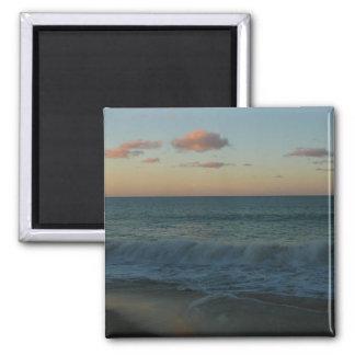 Waves Crashing at Sunset Magnet