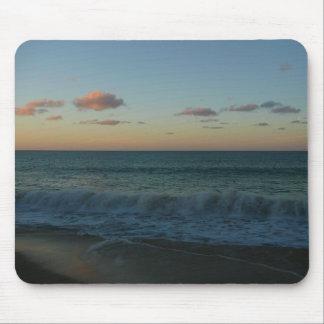 Waves Crashing at Sunset Mousepad