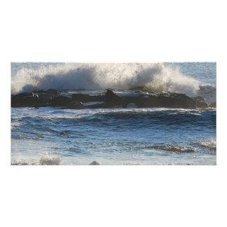 Waves Crashing Card