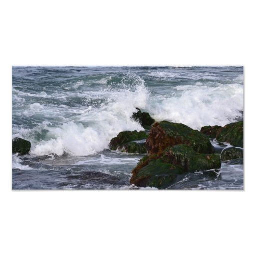 Waves crashing - La Jolla, California Photograph