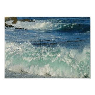 waves-crashing OCEAN WAVES CRASHING SHORE BEAUTY N Card