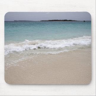 Waves Crashing on Beach Mouse Pad
