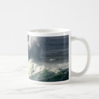 Waves Crashing Seals La Jolla Coffee Mug