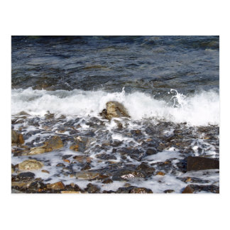 Waves Crashing To The Shore Post Cards