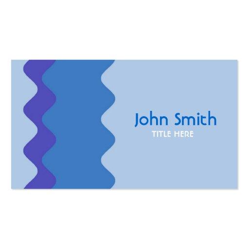 Waves Design Business Card